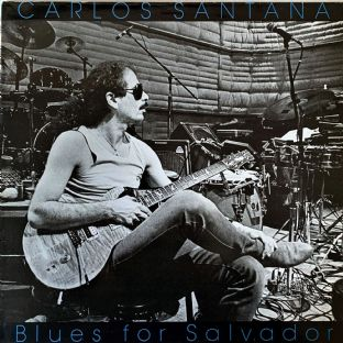 Carlos Santana ‎- Blues For Salvador (LP) (VG-/G-VG)